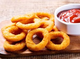 Serres Delivery Mamma`s Pizza Onion Rings